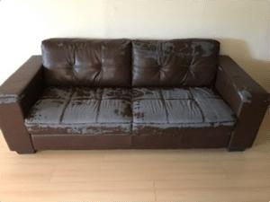 καναπές για επισκευή