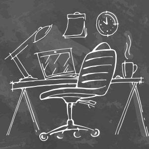 σκίτσο καρέκλας