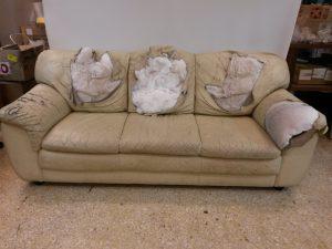 Επισκευή καναπέ