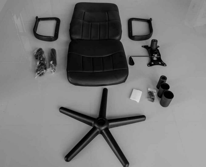 καρέκλα γραφείου αποσυναρμολογούμενη